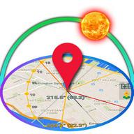 太陽と生活 - 太陽と月の位置