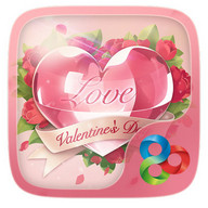 Love Story GO Launcher Theme - Pretty themes for your smartphone