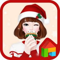 러블리걸(달콤한크리스마스) 도돌런처 테마 lovely girl sweet christmas