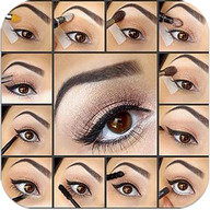 Make up your eyes step by step