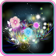 Neon Flower Live Wallpaper