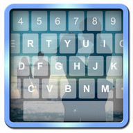 Photo Keyboard - Add a background image to your keyboard and have fun typing