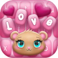 Pink Love Keyboard Changer