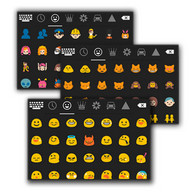 Smart Emoji Keyboard - An Android keyboard with a wide range of emoji