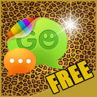 Theme Leopard for GO SMS Pro