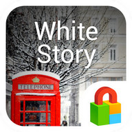 White Story Dodol Locker Theme