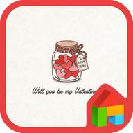 will u be my valentine dodol