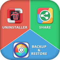 Apps Backup, Restore, Share & Uninstaller