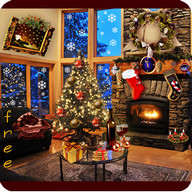 Christmas Fireplace LWP