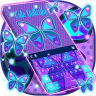 Cute Butterfly Keyboard