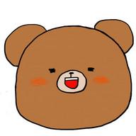日刊くまぬりえ Daily Bear Paint