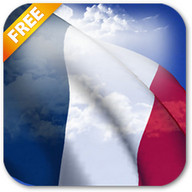 3D France Flag Live Wallpaper