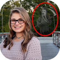 Ghost in Photo Camera Prank