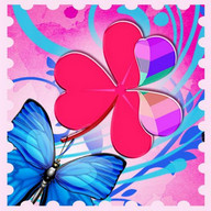 Theme Butterflies GO Launcher