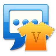 Handcent SMS Skin(Valentine