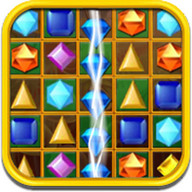 Jewels Break - Collect gems and break them into a million pieces