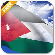 3D Jordan Flag Live Wallpaper