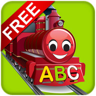 Free Learn ABC Train & Chart