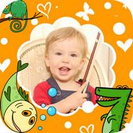 Kids Photo Frames - effects