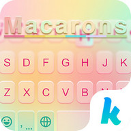 Macarons Emoji Keyboard Theme