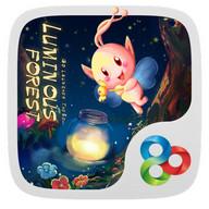 Luminous forest GO Theme