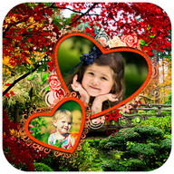 Nature Dual Photo Frames
