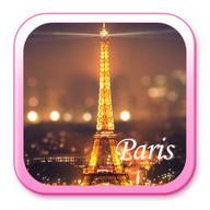 巴黎夜景手机主题——畅游桌面