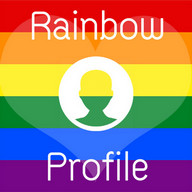 Rainbow Profile Filter Photo