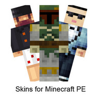 Skins for Minecraft PE - Customize Minecraft with different skins