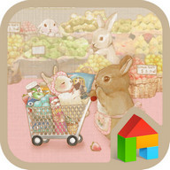T-cup rabbit Shopping