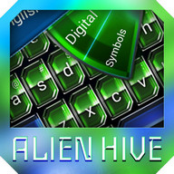 Alien Fun Keyboard theme