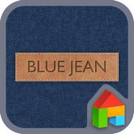 Blue Jean LINE Launcher theme