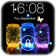 Butterfly locksreen - Butterflies protect your smartphone