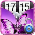 Butterfly Zip Screen Lock