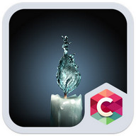 Creative Water Candle Theme HD