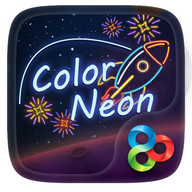 Color Neon GO Launcher Theme