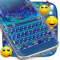 Crystal Sea Keyboard Theme