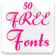 Free Fonts 50 Pack 6