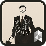 Gentleman launcher theme