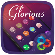 Glorious GO Launcher Theme