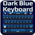 GO Keyboard Dark Blue Theme