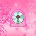 GO Locker Theme Flowers Pink