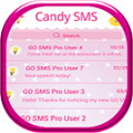 GO SMS Candy Theme