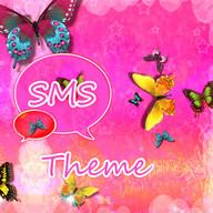 Nice Tema Pink GO SMS Pro