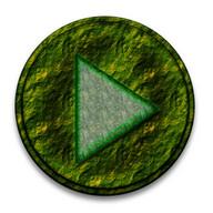 Poweramp Skin Green Jungle