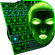 Hacker Keyboard Theme - Feel like a real-life hacker with this keyboard theme