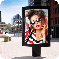 Hoarding Frames - Set your pictures in impressive countries and other places