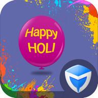 AppLock Theme - Holi Festival