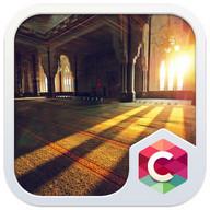 Inside Mosque Sunshine Theme