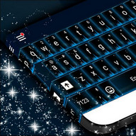 Blue Flame Theme Keyboard